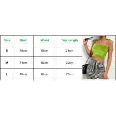Hirigin Women Spring Summer Clothing Sexy Crop Tosp Lady Streetwear Sleeveless Vest Fashion Clothes