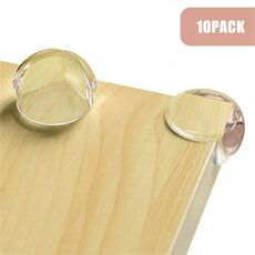 10 PCS Clear Ball Shape Baby Proofing Corner Protectors Child Proof Furniture Bumpers Safety Table Windows Bed Guards