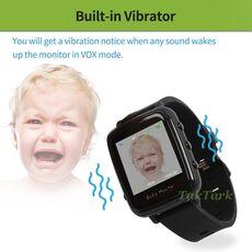 Wireless Video Watch Style Baby Monitor Portable shock vibration Baby Nanny Cry Alarm Camera Night Vision Temperature Monitoring