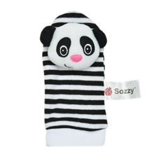 1PCS New Cute Animal Infant Baby Kids Hand Wrist Bell Foot Sock Rattles Soft Lovely Cartoon Colorful Plush Cloth Newborn Toy