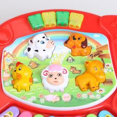 Baby Piano Musical Toys for Children Kids Musical Educational Piano Cartoon Animal Farm Developmental Baby Toy Toys Random Color