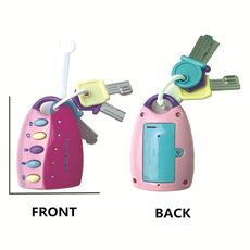 Baby Toy Musical Car Key Toy Vocal Smart Remote Voices Pretend Play Education Flash music Cars educational Toys For Kids Boy