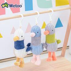 Metoo Doll Stuffed Toys Plush Animals Soft Baby Boy Kids Toys for Children Girls Boys Kawaii Mini Angela Rabbit Pendant Keychain