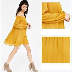 Off The Shoulder Dress Long Sleeve Casual Women Dress Fall Classic Bardot Pencil Dress 2019 Elegant Dress