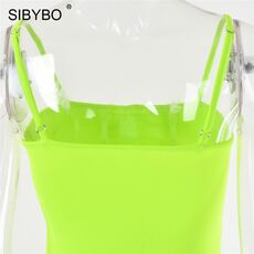 Sibybo Spaghetti Strap Backless Sexy Long Dress Party Off Shoulder Strapless Summer Maxi Dress Black Spring Bodycon Dress Women