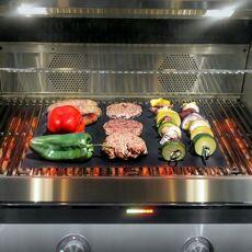 Grill Mat 2 Pcs 44X33CM Non Stick Teflon BBQ Grill Liners Oven Grill Foil Barbecue Liner Reusable Mat Bbq Tools Bbq Accessories