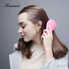 Mini Princess TT Hot Comb Beauty Anti-static Hair Detangler Comb HairCare Styling Tool Set Barber Accessories Massage Hair Brush