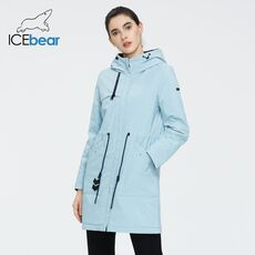 ICEbear 2020 new sports ladies casual jacket windproof warm spring jacket high quality hooded jacket GWC20115D