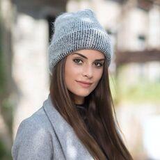new simple Rabbit fur Beanie Hat for Women Winter Skullies Warm Gravity Falls Cap Gorros Female Cap