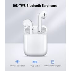 IBESI i9s tws Bluetooth Earphones Wireless Headphones Mini Earbuds Handsfree Bluetooth Headset With Charging Box For Smart Phone