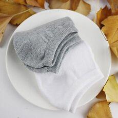 10 Pairs Women Socks Breathable Sports socks Solid Color Boat socks Comfortable Cotton Ankle Socks White Black ~