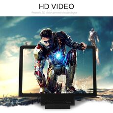 3D Screen Amplifier Mobile Phone Magnifying Glass HD Stand For Video Movie Folding Screen Enlarged Eyes Protection Holder