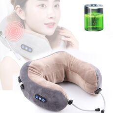 Massage U-Shaped Pillow Multi-Function Shoulder Cervical Vertebra Electric Portable Car Health Care for Home Travel Office