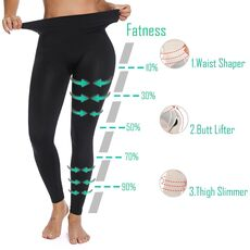 Miss Moly Workout Leggings Fitness Leggins Black Nylon legins Woman High Waist Female Sport Push Up Slimming Control Panty