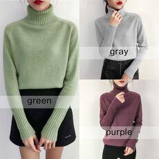 SURMIITRO Knitted Sweater Women 2020 Autumn Winter Korean Cashmere Turtleneck Long Sleeve Pullover Female Jumper Knitwear