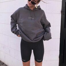 Short paragraph Letter printed Leggings For Women High Waist Black Fashion SweatPants Push Up Fitness Leggings casual pants