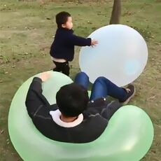 2020 Magic Ball Bubble Giant Amazing Bubble Ball  Blow Up Balloons Toy Fun Party Summer Game Bubble Ball Stress Ball Outdoor
