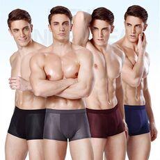 4pcs Mens underwear boxers men boxershort panties man boxeur homme underpants calzoncillos bamboo fiber mesh loose designer 2020