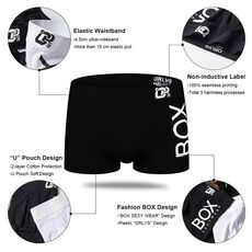 4pc/lot Boxershorts Men Boxers Male Underwear Man Panties Cotton Soft Short Boxer Mesh Mens Hombre Cueca Plus Size OR212