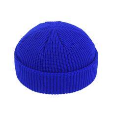 Brimless Hats Hip Hop Beanie Skullcap Street Knitted Hat Women Men Acrylic Unisex Casual Solid Pumpkin Portable Melon Cap