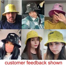 Panama Bucket Hat Men Women Summer Bucket Cap Banana Print Yellow Hat Bob Hat Hip Hop Gorros Fishing Fisherman Hat