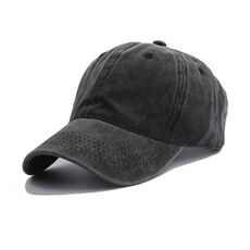 Solid Spring Summer Cap Women Ponytail Baseball Cap Fashion Hats Men Baseball Cap Cotton Outdoor Simple Vintag Visor Casual Cap