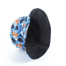 Summer Fisherman Hat Reversible Cartoon Bucket Hats For Women Men Street Hip Hop Bucket Cap Vintage Printed Fishing Hat