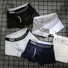 boxer mens underwear men cotton underpants male pure men panties shorts underwear boxer shorts  cotton solid cuecas 365