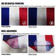 Flag Seamless Magic Outdoor Neck Gaiter Cover Face Scarves Sport Fishing Cycling Hunting Hiking Bandana Tube Scarf Men Women