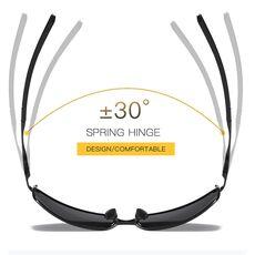 Aoron Sunglasses Mens/Women Polarized Sunglasses,Outdoor Driving Classic Mirror Sun Glasses Men,Metal Frame UV400 Eyewear