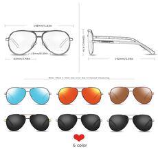 BARCUR Aluminum Magnesium Men's Sunglasses Men Polarized Coating Mirror Glasses oculos Male Eyewear Accessories For Men