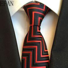 New Classic 100% Silk Men's Ties Neck Ties 8cm Plaid Striped Ties for Men Formal Business Luxury Wedding Party Neckties Gravatas