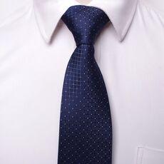 classic men business formal wedding tie 8cm stripe neck tie fashion shirt dress accessories