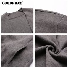 COODRONY Cardigan Men Casual Knitted Cotton Wool Sweater Men Clothes 2020 Autumn Winter New Mens Sweaters and Cardigans Coat B11
