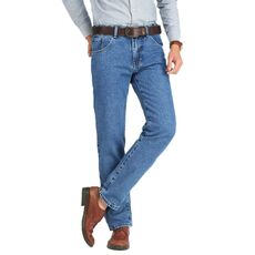 Men Business Jeans Classic Spring Autumn Male Skinny Straight Stretch Brand Denim Pants Summer Overalls Slim Fit Trousers 2019