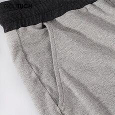 Men's Cotton Sleep Bottoms Sleep Wear Drawstring Pajamas Pants Casual Home Wear Loose Lounge Pants Plus Size Underwear Pyjamas