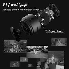 1080P HD IP mini camera  wireless Wifi security remote control surveillance night vision hidden mobile detection camera