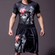 2020 New dragon ball z GOKU Loose Sport Shorts Men Cool Summer Basketball Short Pants Hot Sale Sweatpants No belt