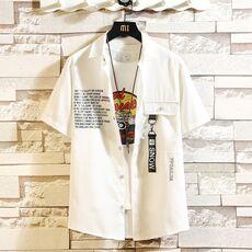 Brand Summer Hot Sell Men's Beach Shirt Fashion Short Sleeve Floral Loose Casual Shirts Plus Asian SIZE M-4XL 5XL