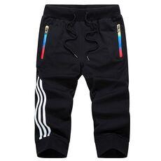 LBL Summer Casual Shorts Men Striped Men's Sportswear Short Sweatpants Jogger Breathable Trousers Boardshorts Man Drop Shipping