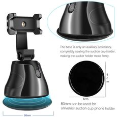 Selfie Stick 360°Rotation Auto Face Object Tracking Smart Shooting Pivo Camera Phone Mount Vlog Shooting Smartphone Mount Holder