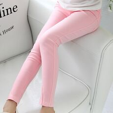Girls Pants 2020 Spring Summer Kids Pants Elastic Tight Pants Children Full Length Pencil Pants for 3 4 6 8 10 12 Years