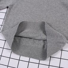 New 2019 Baby Boys Girls Sweater Kids Pullover Solid Color Cotton Knitwear Sweater Brand Cotton Long-Sleeve Children Knit Tops