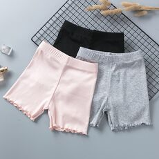 100% Cotton Girls Safety Pants Top Quality Kids Short Pants Underwear Children Summer Cute Shorts Underpants For 3-11 Years Old