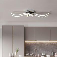 Chrome plating Modern led ceiling lights for living room dining room living room bedroom kitchen led Ceiling lighting Fixture