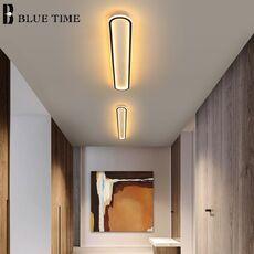 Gold Black Finished Simple Led Ceiling Light For Living room Bedroom Corridor Dinning room Indoor Lighting Luster Ceiling Lamp