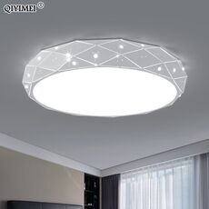 Iron Chandelier Lights For Child Bedroom Living Room Dimmable With Remote Control Luminaria Luminaire AC85-260V Indoor Fixtures