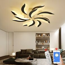 NEO Gleam New Design Acrylic Modern Led Ceiling Lights For Living Study Room Bedroom lampe plafond avize Indoor Ceiling Lamp