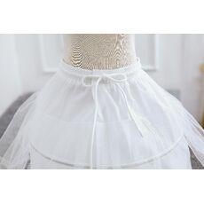 White Tulle Skirt Baby Girls Tutu Skirts Petticoats Kids Underskirt Skirt Children Wedding Accessories Girl Petticoat Crinoline
