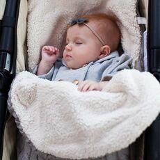 Baby Sleeping Bag Envelope Winter Kids Sleepsack Footmuff For Stroller Knitted Sleep Sack Children Newborn Knit Wool Slaapzak